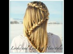 Easy Braids For Long Hair Ideas 31 cute and easy braids for back to school Easy Braids For Long Hair. Here is Easy Braids For Long Hair Ideas for you. Easy Braids For Long Hair 31 cute and easy braids for back to school. Quick Braided Hairstyles, Cute Girls Hairstyles, Pretty Hairstyles, Prom Hairstyles, Hairstyle Ideas, Teenage Hairstyles, School Hairstyles, Updo Hairstyle, Braided Updo