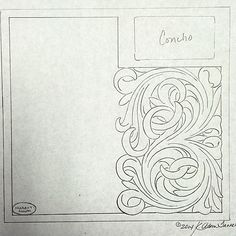Roper wallet design layout ready for leather! #tannercustomleather #custommade #wallet