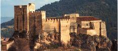 CASTLES OF SPAIN - Castillo de Yeste, Albacete. Castillo de origen musulmán del siglo XI, enclavado en  un promontorio, a los pies del cual se encuentra la villa. La Yeste islámica, fue conquistada por las tropas castellanas en los primeros meses de 1242, siendo concedida aquel mismo año a la Orden de Santiago, sirviendo el castillo de residencia de los comendadores de la Orden de Santiago durante los siglos XIII al XVI.