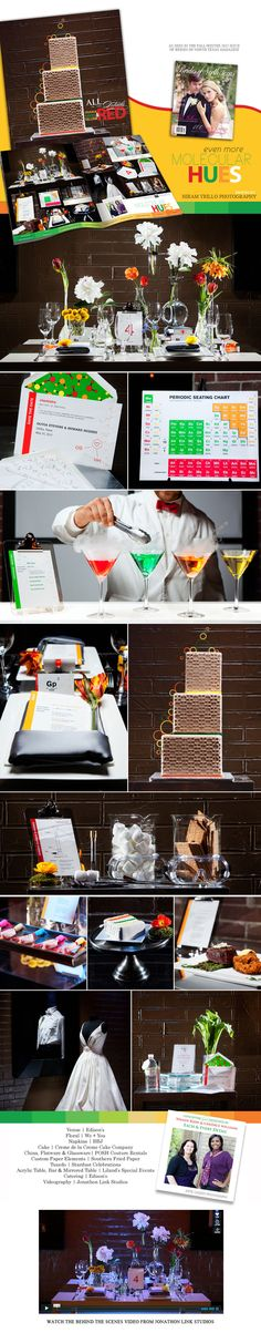The Chemistry of Love: Each and Every Detail - This is an adorable wedding!