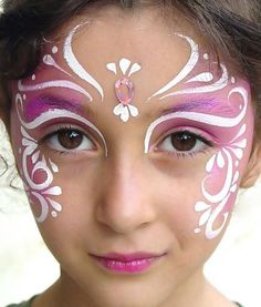 face template for face painting - Google Search