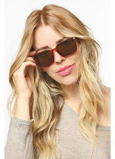 Waverly Vintage Flat Top Horn Rimmed Sunglasses