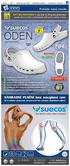 Antistatická - disipativní obuv model ODEN je upravena tak, že zabraňuje nadměrnému hromadění statické elektřiny v těle - splňuje požadavky normy EN ISO 20344:2011, 5.10.