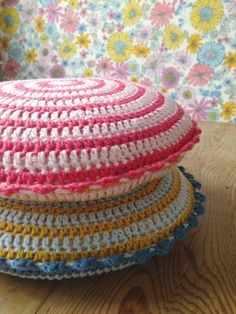 Pretty Crochet Cushions