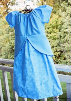 CINDERELLA Peasant Princess Dress 2T  3T  by Allinclusivedesigns, $24.00