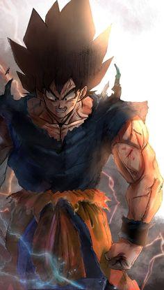 Stunning Goku Art Work By Greyfuku From Twitter Dbz Anime Dragon Ball Super Dragon Ball Art Dragon Ball Tattoo