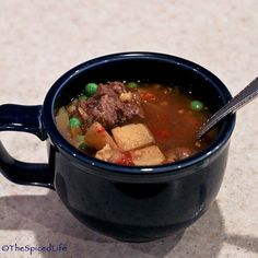 A slow cooker makes this beef-flavored yet flexitarian Anglo-Indian soup easy and delicious.