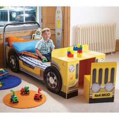 Jeep Toddler Bed with Desk Childrens furniture Sale Home on PopScreen
