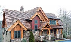 New House Goals Exterior Square Feet Ideas Rustic House Plans, Lake House Plans, Mountain House Plans, Mountain Living, Craftsman House Plans, New House Plans, Mountain Style, Mountain Cabins, Mountain Homes