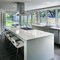 No Upper Cabinets Design Ideas, Pictures, Remodel, and Decor