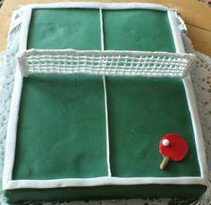 Tortowy tenis stołowy :-)
