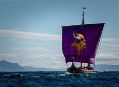 Minnesota Vikings Football, Viking Ship, Nfl, History, Outdoor Decor, Sports, Hs Sports, Historia, Nfl Football