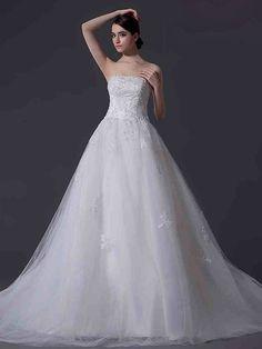 ランディブライダル ウェディングドレス プリンセス ビスチェ コートトレーン 挙式 ブライダル 結婚式 B14TB0012