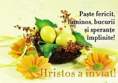 felicitare-paste-fericit-hristos-a-inviat - Special Koko Greek Easter, Happy Easter Everyone, Cookies Policy, Holidays And Events, Projects To Try, Make It Yourself, Food, Yuu, Staging