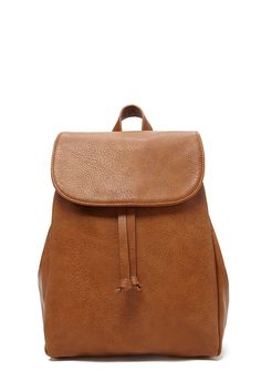 Faux Leather Backpack #accessorize