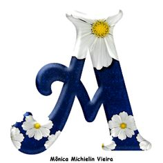 Alphabets by Monica Michielin Dragon Ball, Printable Alphabet Letters, Alphabet Wallpaper, Snoopy, Monogram Letters, Flower Patterns, Floral, Projects To Try, Scrapbook