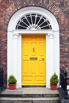 Around the world, colorful doors make a bold statement and add serious curb appeal. See some of our favorites.