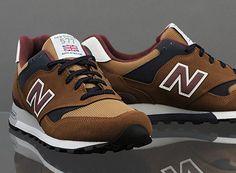 New Balance 577 – Brown/Burgundy/Navy