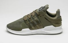 innovative design e211e fefc7 adidas EQT Support ADV Olive Cargo features a full Olive Cargo Green upper  thats scheduled to release in October Take a look at this Olive Green