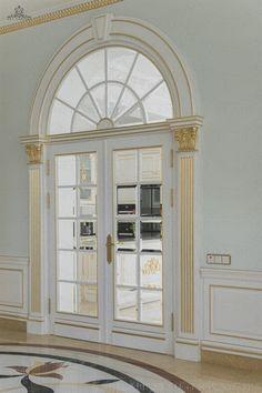 арткабинет 7620 House Arch Design, House Window Design, House Outside Design, House Ceiling Design, Front Door Design Wood, House Plans Mansion, Classic House Design, Interior Design Gallery, Mansion Interior