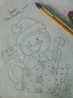 Xmas Drawing, Christmas Drawing, Christmas Paintings, Christmas Wood, Christmas Signs, Christmas Colors, Christmas Crafts, Painting Templates, Painting Patterns