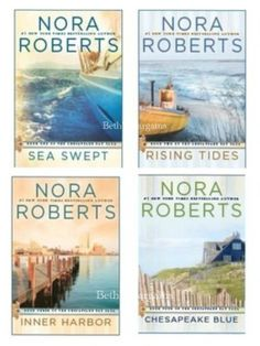 Nora Robert's Chesapeake Bay Saga follows the Quinn Brothers and their stories.