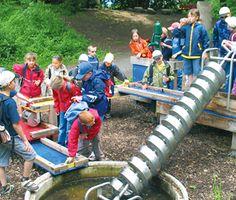 Theme trail for kids in Werdenberg Buchs St Gallen Switzerland