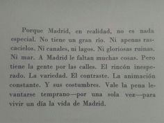 ♡ Madrid