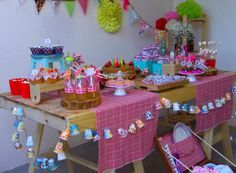 Festa aniversario piquenique em casa