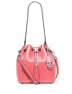 76eb8ad16353 Michael Michael Kors Greenwich Medium Saffiano Leather Bucket Bag