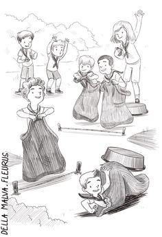 Published by Fleurus Mame / Illustrated by Eleonore Della Malva