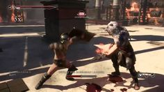 Ryse Son of Rome: Multiplayer: Boss Execution