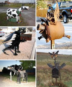 Pick your favorite animal mailbox!    #mailbox #mailboxes