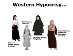 This is what religion does. Oppression of women is really not a cultural practice, but a religious one. Modest Dresses, Modest Outfits, Modest Clothing, Muslim Veil, Orthodox Jewish, Intersectional Feminism, Muslim Women, Revolutionaries, Woman Quotes