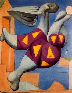 Pablo Picasso, Bather with Beach Ball, 1932