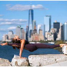 #inspired by @adellbridgesyoga & @aloyoga ✨.. thanks - IG/Yogainspiration