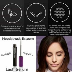 What do you want out of a lash serum?  A. Longer Lashes B. More Volume  C. More density