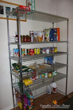 TRINITY EcoStorage 6-Tier Wire Shelving Rack – Review Shelving Racks, Wire Shelving, Kitchen Organization, Organization Ideas, Monogram Cake Toppers, Storage Sets, Breakfast Lunch Dinner, Consumer Products, Innovation Design