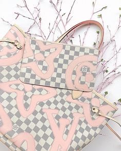 New Arrival in 2017. #Louis #Vuitton Damier Neverful Bandouliere Handbag with a big Discount.