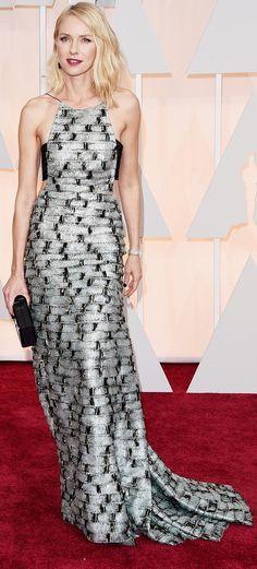 Naomi Watts's Dress at the Oscars 2015   POPSUGAR Fashion