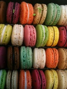 Macaroons are the best.