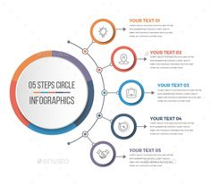 Buy Simple Circle Infographics by Design_Sky on GraphicRiver. This is Simple Circle Infographics. Circle Infographic, Process Infographic, Infographic Powerpoint, Infographic Templates, Infographics Design, Health Infographics, Web Design, Layout Design, Font Design