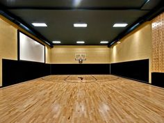 Nice space.  Basketball court and dojo too if you want. I would turn it into a dance studio