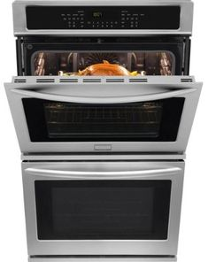 Frigidaire Double Electric Wall Oven Self Cleaning Convection Stainless Steel At Online