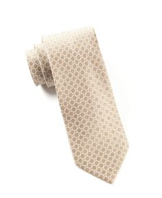 CHAIN REACTION - LIGHT CHAMPAGNE | Ties, Bow Ties, and Pocket Squares | The Tie Bar