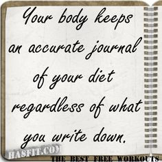 Your food diary may not be 100% honest, but your body will be! The foods we eat really serve as the nutritional foundation for our features - our skin, hair, nails, eyes, teeth and of course, our body shape and size.