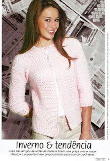 Rose Jacket free crochet pattern