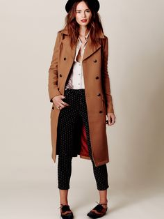 Free People: At Length Coat