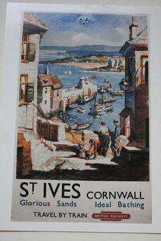 st ives postcard