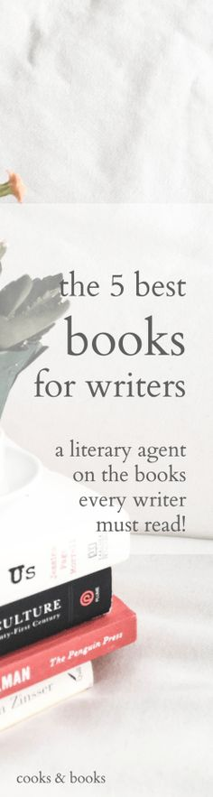 A literary agent shares the must-read books she recommends to every writer--make sure you've read these to get the most out of your craft!